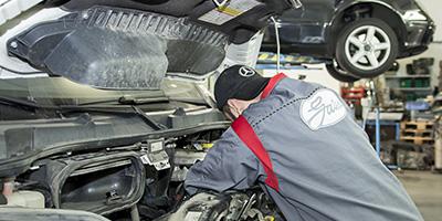 Záruční a pozáruční servis vozidel